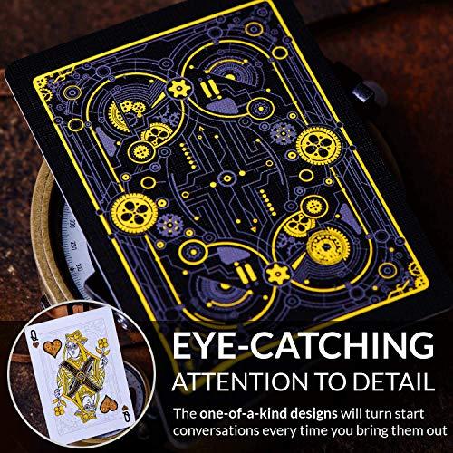 Cyberpunk Gold Cartes à jouer par...