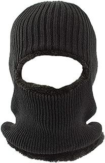 Pogah Balaclava Ski Mask, Fleece-Hood - Winter Beanie Hat Windproof Face Mask for Men Women