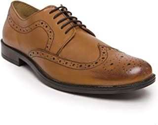 NOBLE CURVE Leather Brogues Shoes