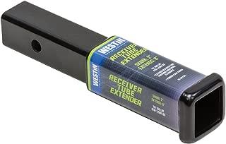 Westin 65-691301 8-inch Black Receiver Tube Extender