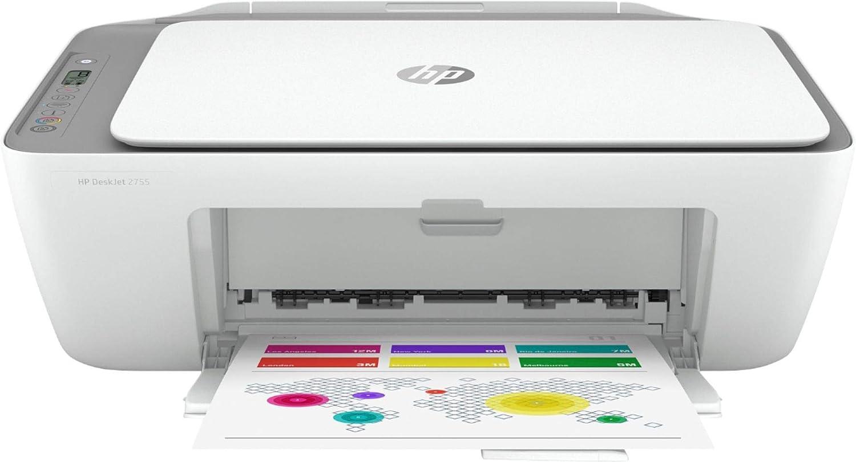HP DeskJet 2722 All-in-One Wireless Color Inkjet Printer (Renewed)
