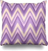 Pandarllin Throw Pillow Covers Philippines Pattern Zig Zag Chevron Ikat Ethnic Flames Weave Lake Tinalak Cushion Case Home Decor Sofa Square Size 20 x 20 Inches Pillowcases
