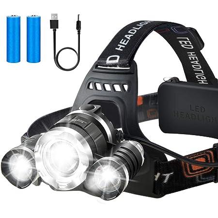 Ultra Bright LED Head Torch Headlamp Flash Light Adjustable Camp Fish