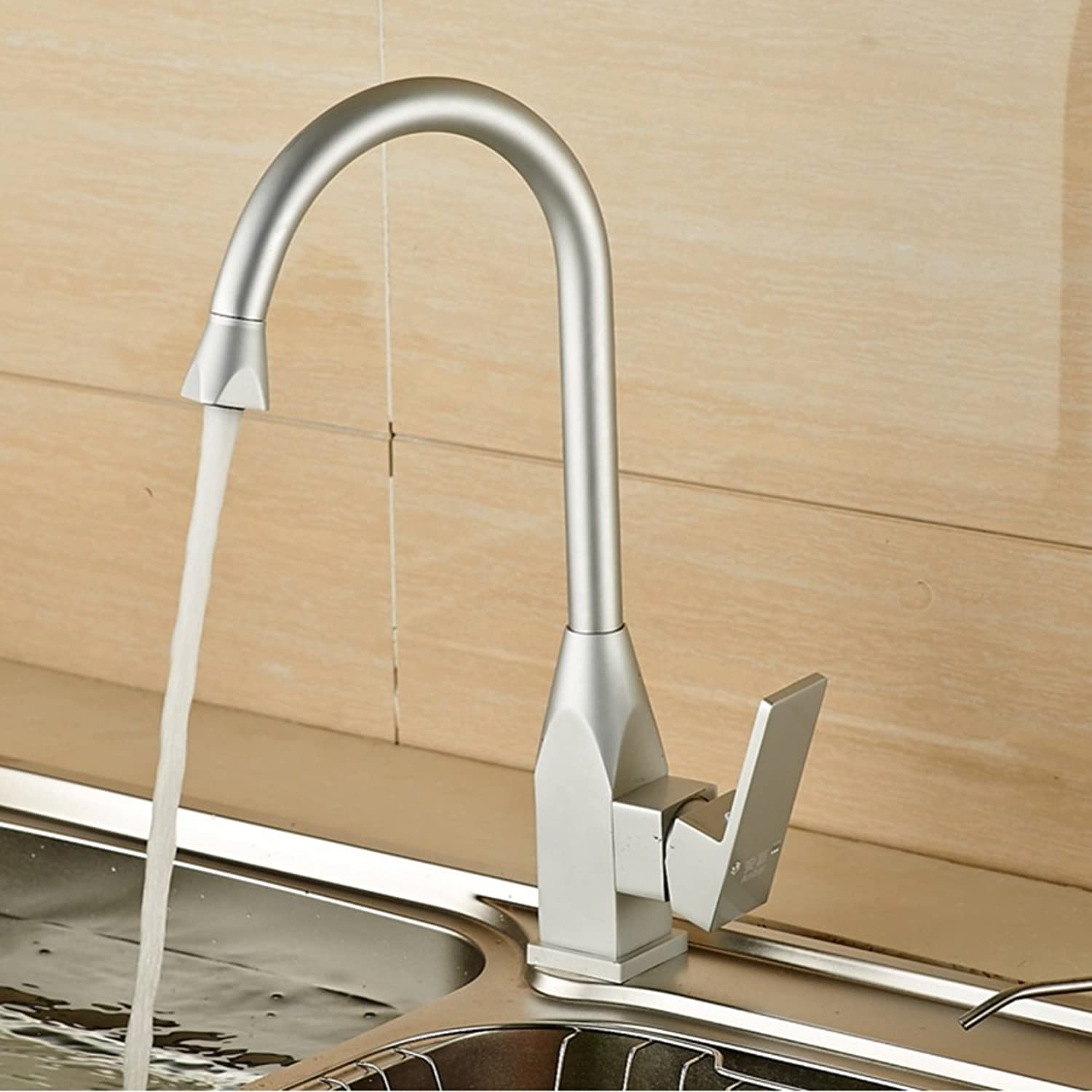 ZHF Vegetables basin kitchen faucet Sink faucet redatable faucet Washing the dishes hot and cold faucet