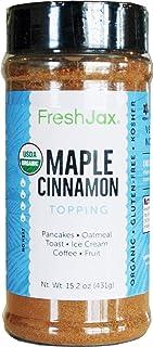 Sponsored Ad - FreshJax Premium Gourmet Spices and Seasonings (Organic Maple Cinnamon - Extra Large)