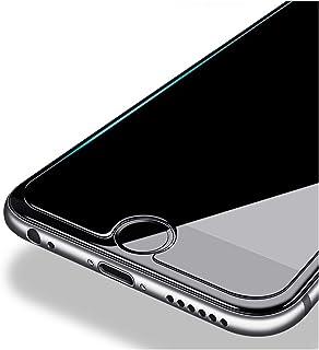 واقي شاشة 2PCS HD Screen Protector Glass Compatible with iPhone X XS MAX XR Front Protective Film Compatible with iPhone 6...