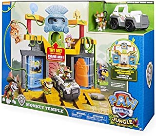 Paw Patrol Jungle Rescue - Monkey Temple Playset with Tracker -CN#b4err4-gr4e g145e32332
