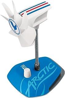 ARCTIC Breeze Edición Nacional - Ventilador de Mesa USB con Cuello Flexible y Velocidad Ajustable, Portátil para Casa y Oficina, Silencioso, Velocidad del Ventilador 800-1800 RPM - Francia