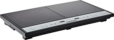 Cuisinart Double Induction Cooktop, One Size, Black