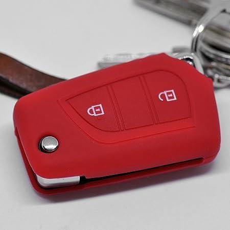 Soft Case Schutz Hülle Auto Schlüssel Für Toyota Aygo Elektronik