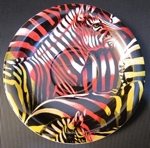 Bopla! ENZI Porzellan Safari Zebra Unterteller Kaffee/Mini Teller 16 cm Coffee Saucer/Mini Plate 6 1/4 in. Soucoupe à café/Assiette Mini 16 cm Sottotazza da caffè/Piatto Mini 16 cm