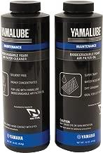 Yamaha Yamalube ACC-BIFMF-LT-KT Bio-Degradable Foam Air Filter Oil & Cleaner Kit, 16 Oz Each