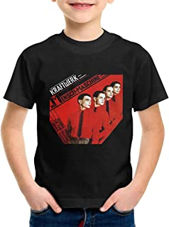 LarryGThatcher Kraftwerk Children's Cute Boy Girl Tshirts