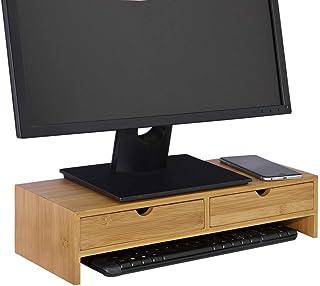 SoBuy® FRG198-N Réhausseur d'écran Support de Moniteur Écran Ergonomique Support pour Écran d'ordinateur Universal, Ordina...