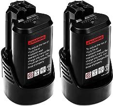 3.0Ah Replacement Bosch 10.8V Battery BAT411 BAT412 BAT413 BAT414 Lithium-Ion Battery