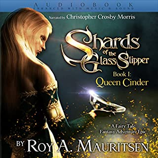 Shards of the Glass Slipper audiobook cover art