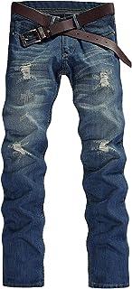 (ベクー)Bekoo 3 ジーンズ メンズ デニム パンツ ビンテージ ストレート Gパン シンプル ユーズド 加工