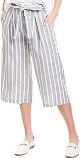 Women's Tie Waist Culotte Pants