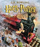 harry potter 1 book - Harry Potter and the Sorcerer's Stone: The Illustrated Edition (Harry Potter, Book 1)