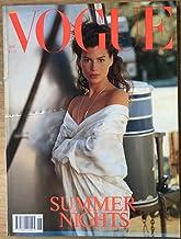 Vogue Revista Nº 6 Junio 1989: Noches de verano