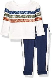 Splendid baby-boys Long sleeve pant set T-Shirt Set