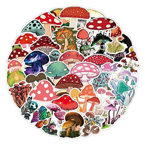 10/50Pcs/pack Kawaii Mushroom Decorative Scrapbooking Craft Sticker Diary Album Sticker Adhesive