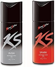 AURA & ZEST KS Kamamsutra Deo Combo of Rush and Spark, 150 ml (Pack of 2)
