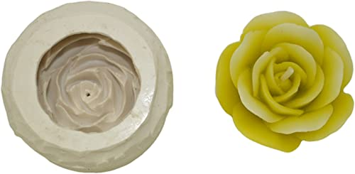 Niral Industries Silicone Flower Candle Mould; 5.5 x 5.5 x 2.5 cm