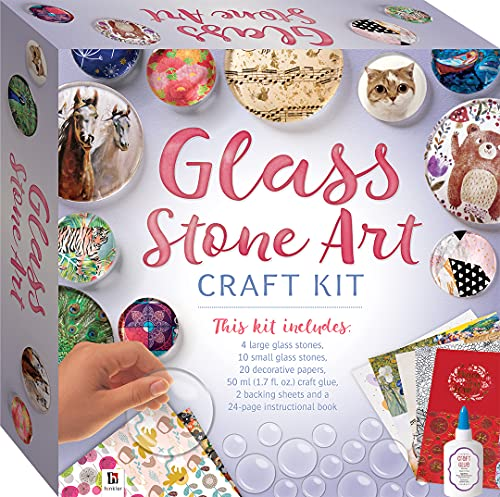 Glass Stone Art Craft Kit-This Complete Starter Kit includes all you need to...