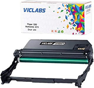 VicLabs Compatible 3215 101R00474 Drum Unit, Replacement for Xerox 101R00474 Drum Unit Works with Phaser 3260 Toner WorkCentre 3215 Toner Cartridge-High Yield 10,000 Pages,1-Pack