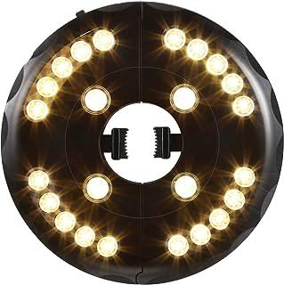OYOCO Patio Umbrella Light 3 Brightness Modes Cordless Umbrella Lights at 200 lumens-4 x AA Battery Operated,Umbrella Pole...