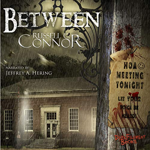 Between audiobook cover art