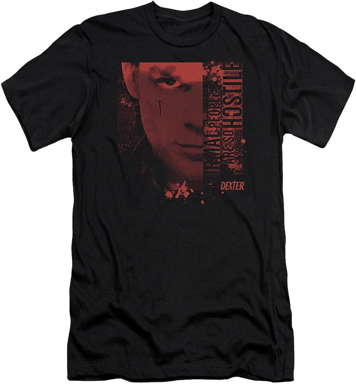 Dexter - Mens Normal Premium Slim Fit T-Shirt