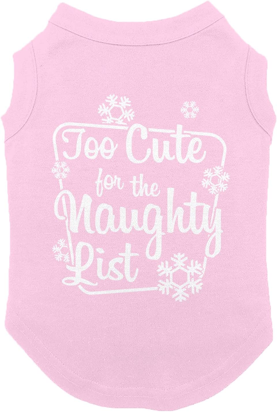 Too 100% quality warranty Cute for The Naughty Max 71% OFF List X-Smal Shirt Adorable - Pink Dog