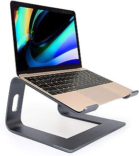 Laptopstativ, ergonomiskt notebookstativ, aluminium borttagbar laptophållare, demonterbar ventilationshållare, Riser för M...
