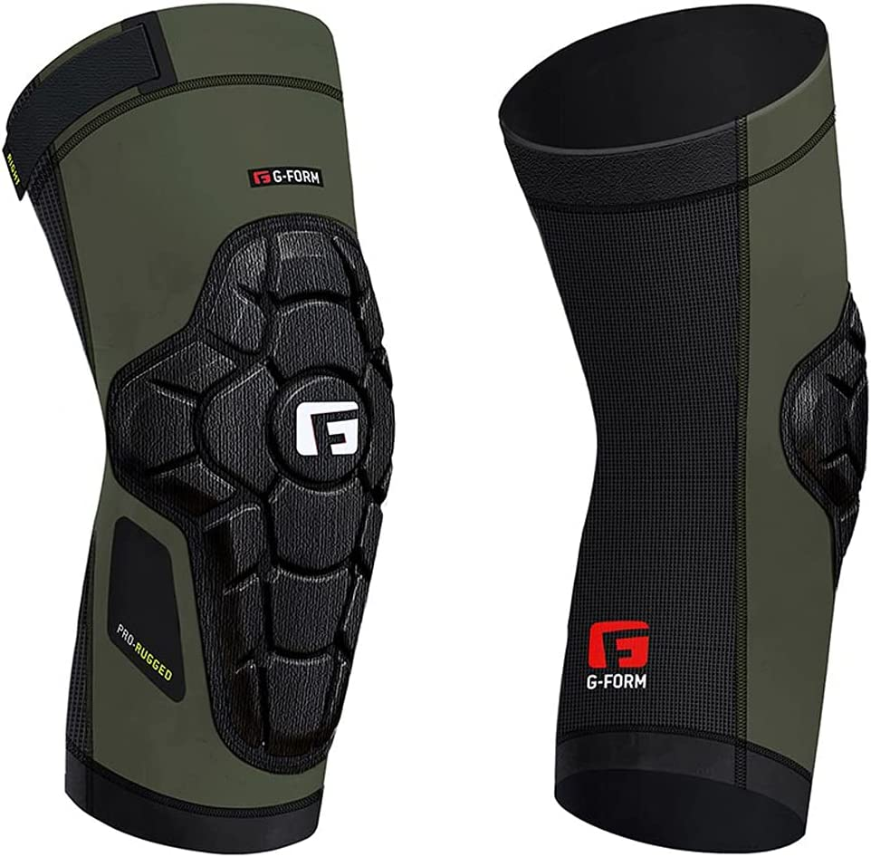 G-Form Pro-Rugged Knee Popular brand in the world Recommended Guard KP060247 Army - Green
