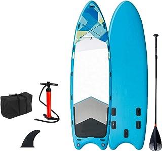 """Uppblåsbar Stand Up Paddle Board,SUP Surfboard Set,8""""Tjock,Flerspelarkayak,för alla nivåer Vuxna barn,med tillbehör Luftpu..."""