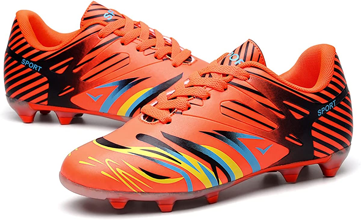 Over item handling TOPAOJC Spiked Football Shoes Outdoor and Sneake Walking High material Running