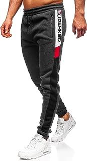BOLF Hombre Pantalón De Chándal Estampado Pantalón de