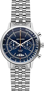 Jack Mason Racing Chronograph Watch 40mm | Navy/Stainless Steel