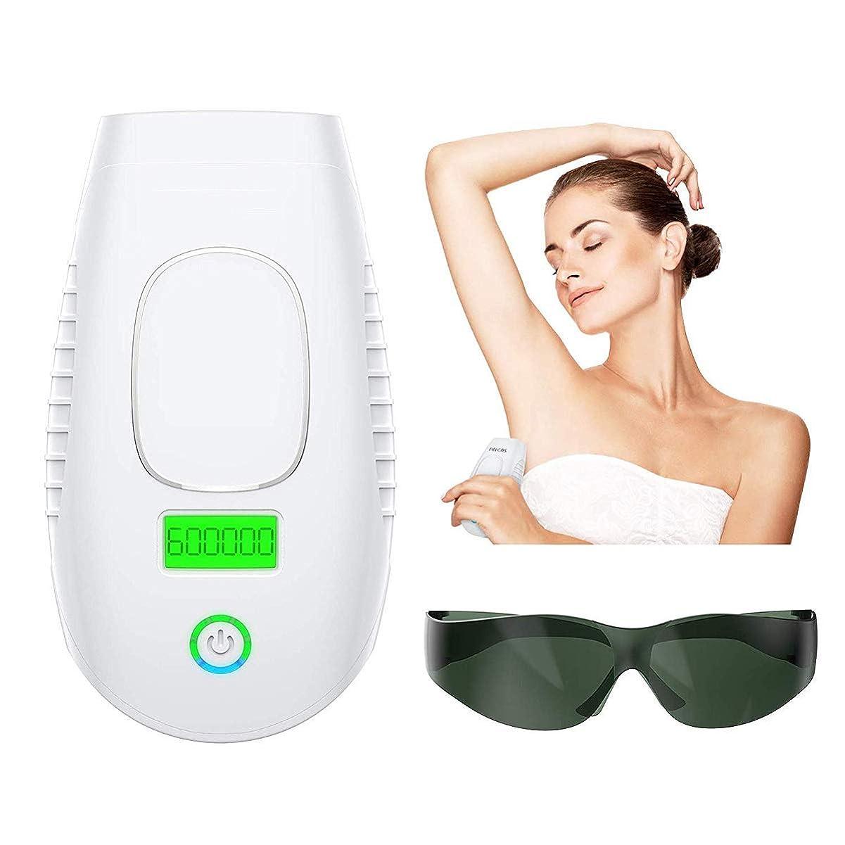 速記失速現れるパーマネントヘアリムーバルIPL 6システムデバイス600,000回点滅家庭用電気シェーバー-男性と女性の無痛の体の脚の脱毛