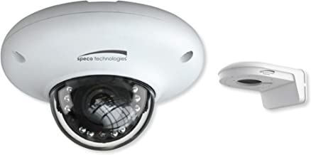 Speco O4MD3 H.265 Indoor/Outdoor Mini Dome IP Camera, 4MP, 2.8mm