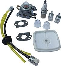 KIPA Carburetor Fuel Filter Air Filter Fuel Line Spark Plug kit for Zama C1U-K42B C1U-K42A C1U-K42 Echo PB2100 Blower 12520020563 12520020564 12520020562 12520020561 12520020560