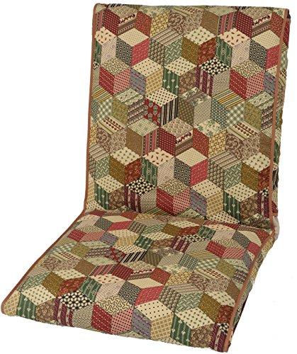 日本インソール工業『和室用洗える座椅子カバー(和彩調)』