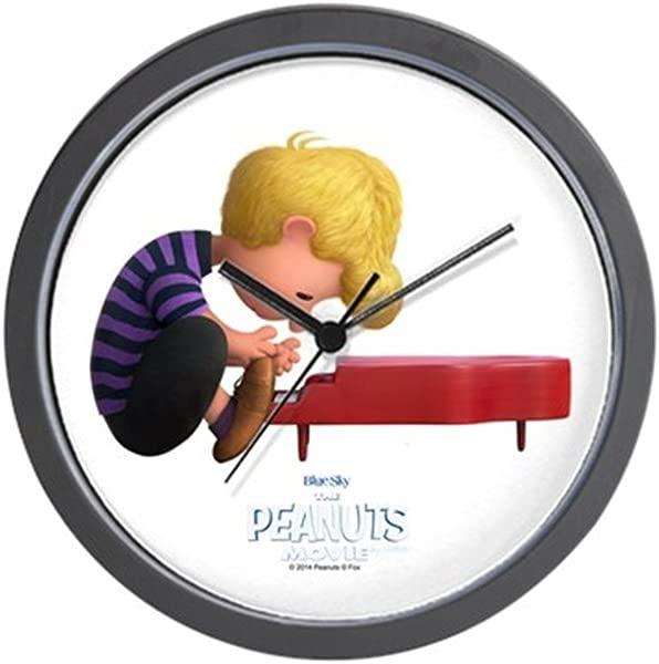CafePress Schroeder The Peanuts Movie Unique Decorative 10 Wall Clock