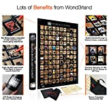 Wond3rland Premium Scratch Off Movie Poster with 100 Films & 20 TV Shows   Unique Black Cinematic Bucket List   Deluxe Gift for Cinema Lovers   Bonus - Complete Accessories Set Included (Black)