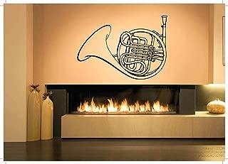 Vinyl Sticker Tuba Musical Instrument Music Song Band Musician Singer Player Mural Decal Wall Art Decor SA3401