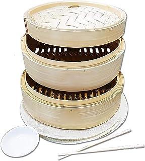 pegtopone Vaporera De Bambú 10