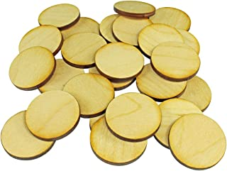 LITKO Miniatures Wargame Bases, 30mm Circular, 3mm Plywood (25)