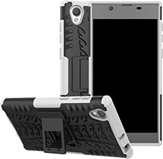 Xperia XA1 Ultra Case, Lantier Shockproof Impact Protection Tough Hard Rugged Heavy Duty Dual Layer Protective Case Cover with Kickstand for Sony Xperia XA1 Ultra G3212 G3226 6